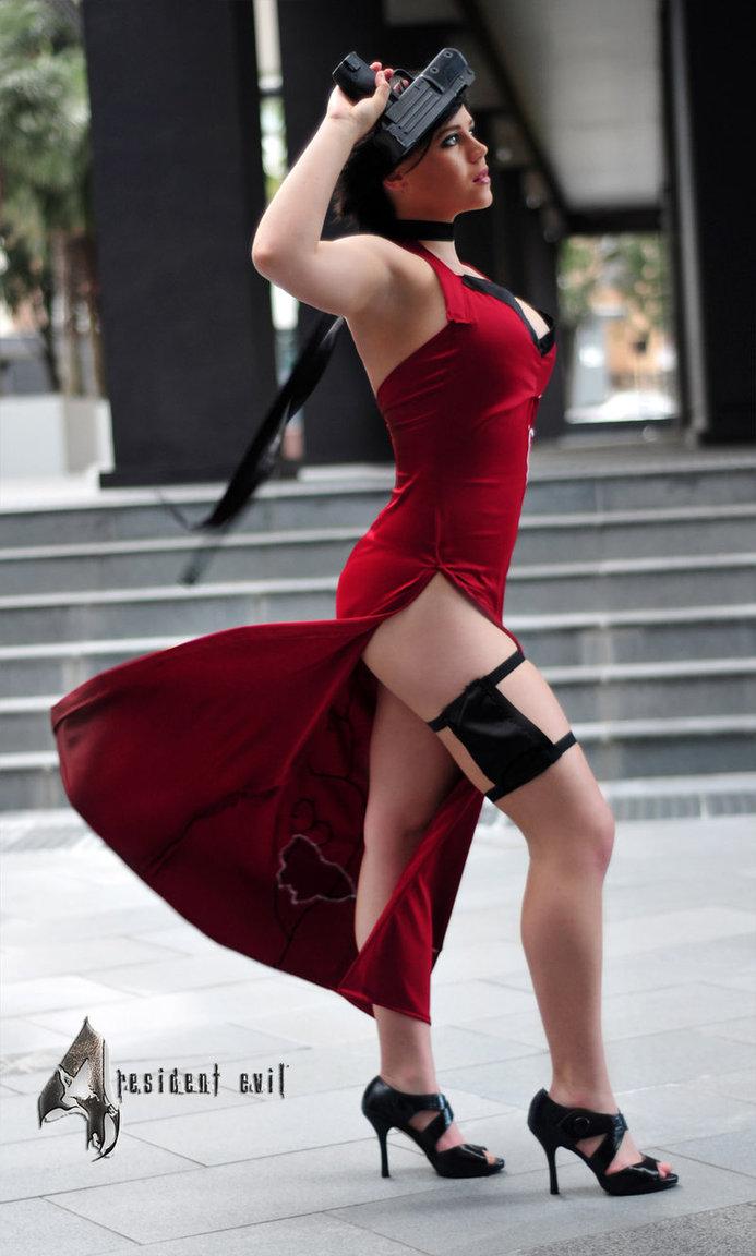 Hot foto cosplay ada wong di resident  xxx photos