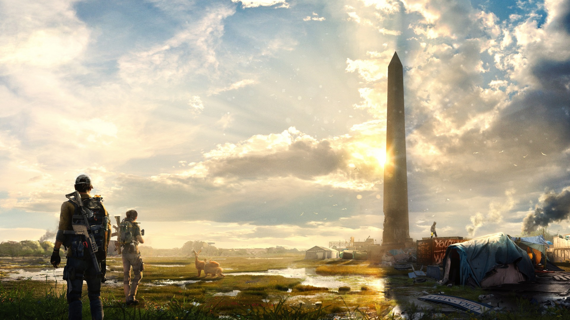 О сюжете и геймплейных возможностях The Division 2 в предрелизном трейлере