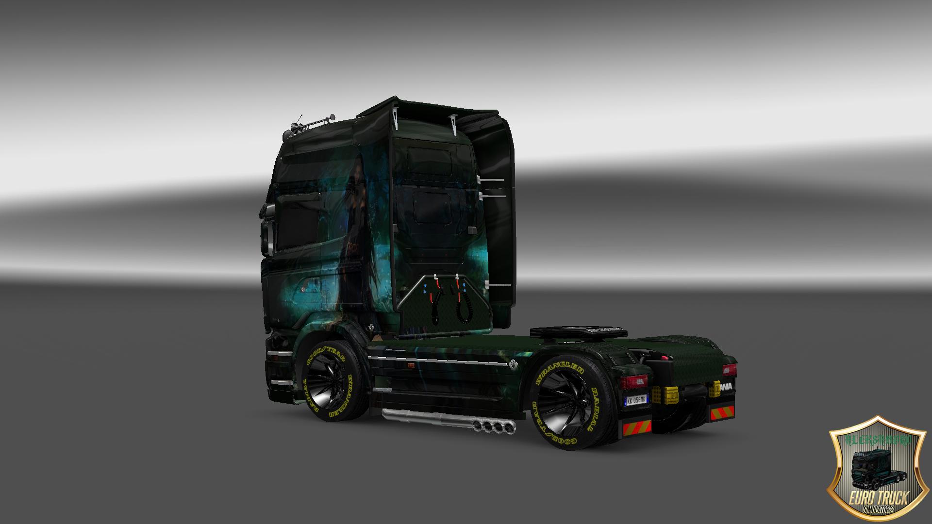 Мод Графики для Euro Truck Simulator 2