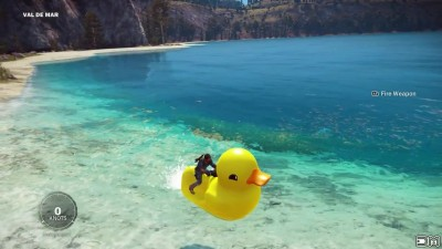 "Just Cause 3 ""Rubber Duck Jet Ski Easter Egg Location"""