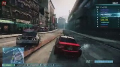 Need for Speed: Most Wanted – Геймплейное интервью