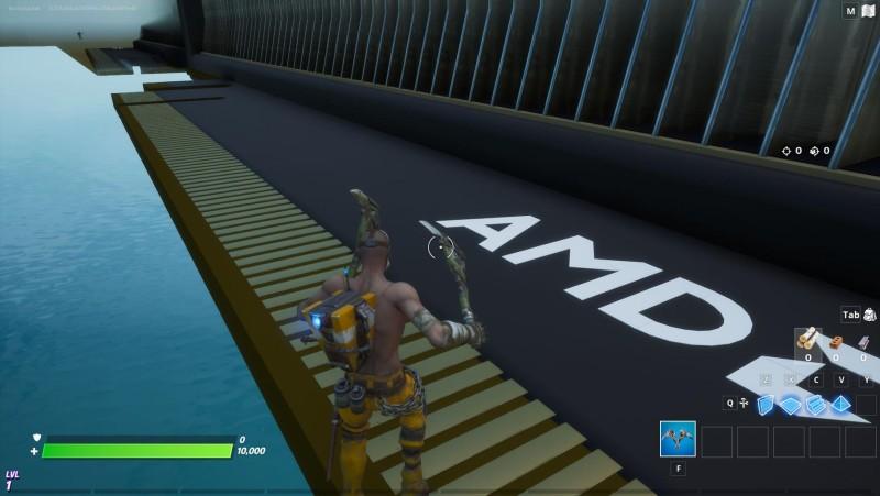 Новая видеокарта от AMD появилась в Fortnite
