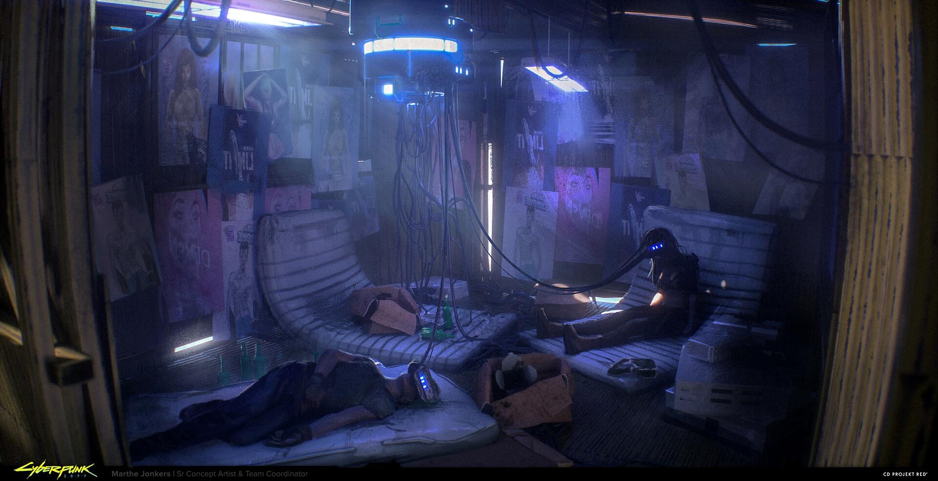 Концепт-арты Cyberpunk 2077