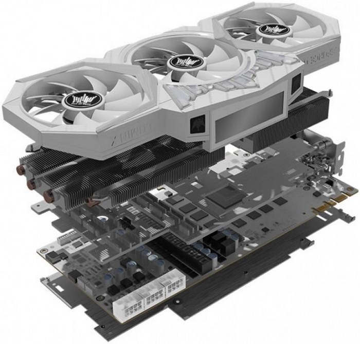 KFA2 GeForce GTX 1080 Ti HOF «8 Pack Edition»