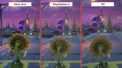 Plants vs. Zombies: Garden Warfare 2 сравнение PS4 vs. Xbox One vs. PC(IGN)