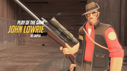 TF2 play of the game concept (Sniper)