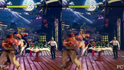 "Street Fighter 5 ""Сравнение графики PS4 vs PC"" (DigitalFoundry)"
