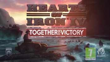 Hearts of Iron IV Together for Victory Тизер анонса