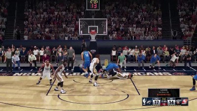 "NBA 2K16 ""Геймплей OKC Thunder vs New Orleans Pelicans [PS4-версия]"""