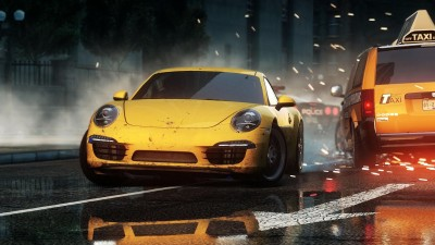 Ещё один геймплей раннего билда Need for Speed Most Wanted 2012