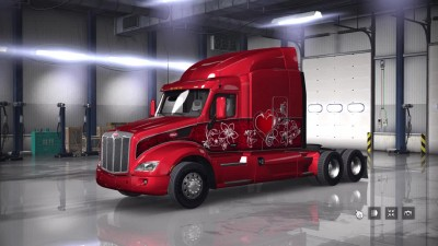 [ATS/ETS 2] Обзор DLC - Valentine's Paint Jobs Pack's