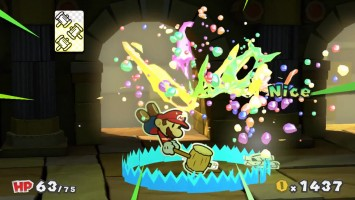 "Paper Mario: Color Splash ""11 минут геймплея PAX West 2016"""