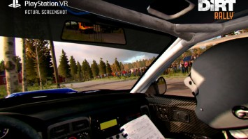 DiRT Rally получит поддержку PlayStation VR