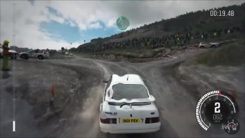 DiRT Ралли - Ford Sierra Cosworth RS500 Геймплей (PC HD)