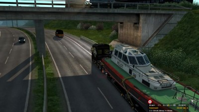 ETS 2 Scania 2016 8x4 CAT - Pilot Boat Fail