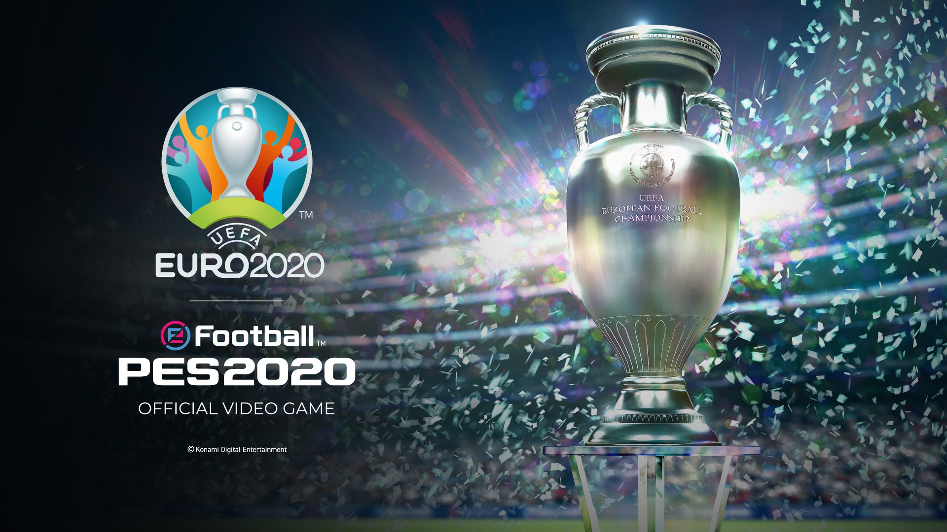 Бесплатное дополнение UEFA Euro 2020 для eFootball PES 2020 прибудет в следующем месяце