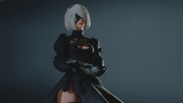 Сексуальный андроид против Мистера Икс: 2B пробралась в ремейк Resident Evil 2