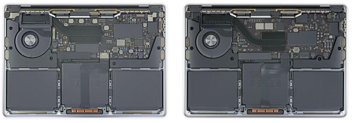 Найти 10 отличий - миссия едва ли выполнима. Что показало вскрытие новых MacBook на платформе Apple M1?