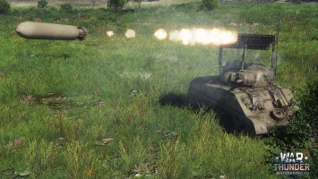 War Thunder РСЗО T34 Sherman Calliope