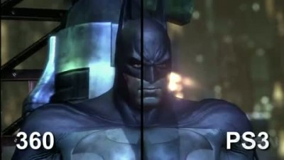 "Batman: Arkham City ""PS3 vs 360"""