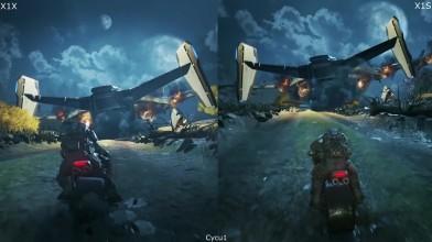 Сравнение Gears of War 4 на Xbox One и Xbox One X