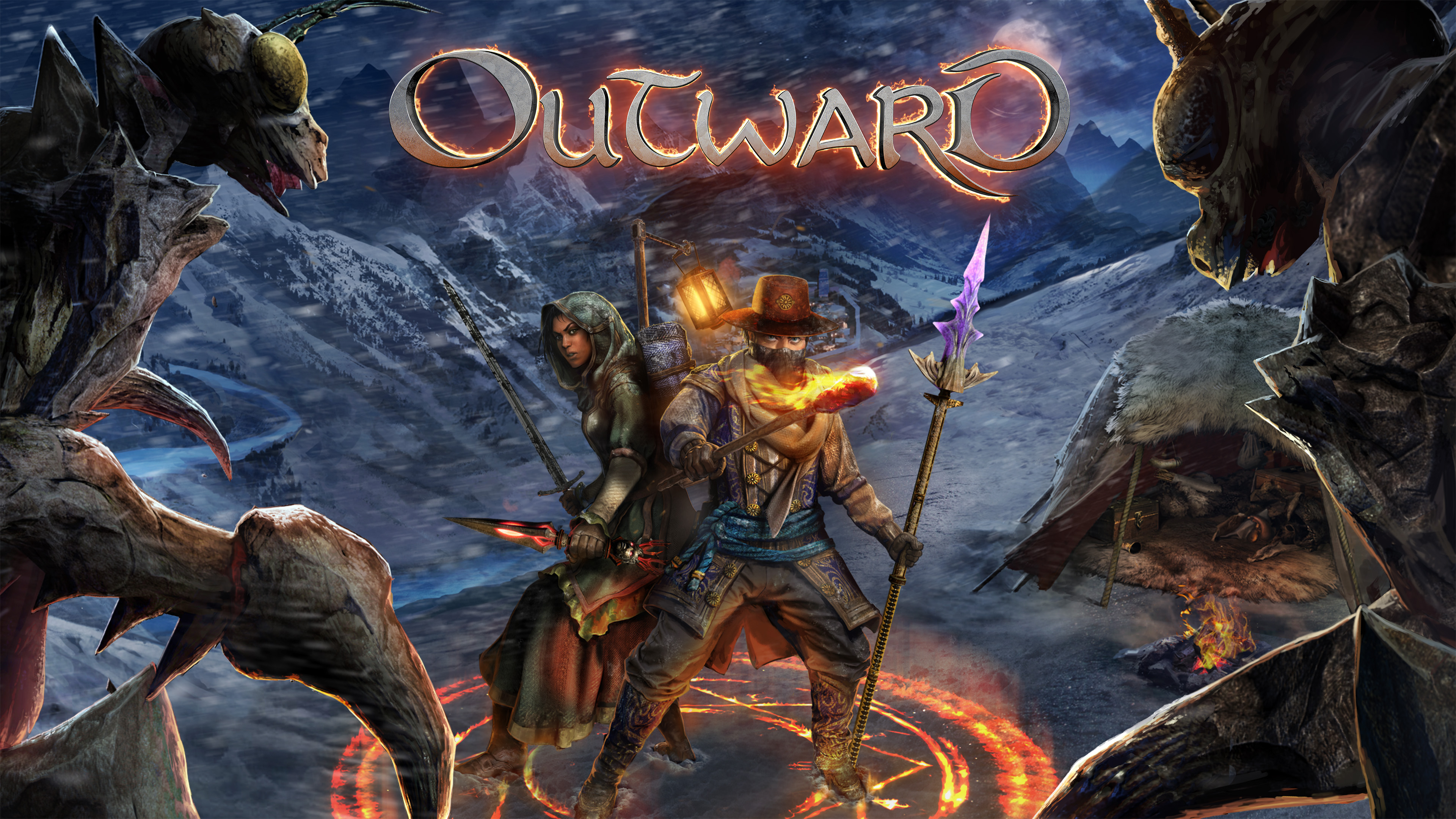 Outward разошлась тиражом в 600 000 копий, официальный саундтрек поступил в продажу