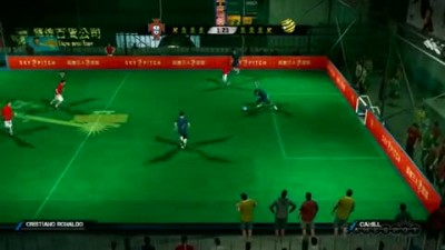 "FIFA Street ""Portugal vs Australia Gameplay"""