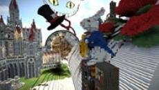 Алису из Страны чудес переселили в Minecraft