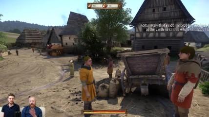 Около часа геймплея Kingdom Come: Deliverance из E3-билда