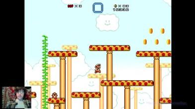Super Mario Bros. X (v. 2.0) - The Invasion 2 - 1 уровень (прохождение на русском)