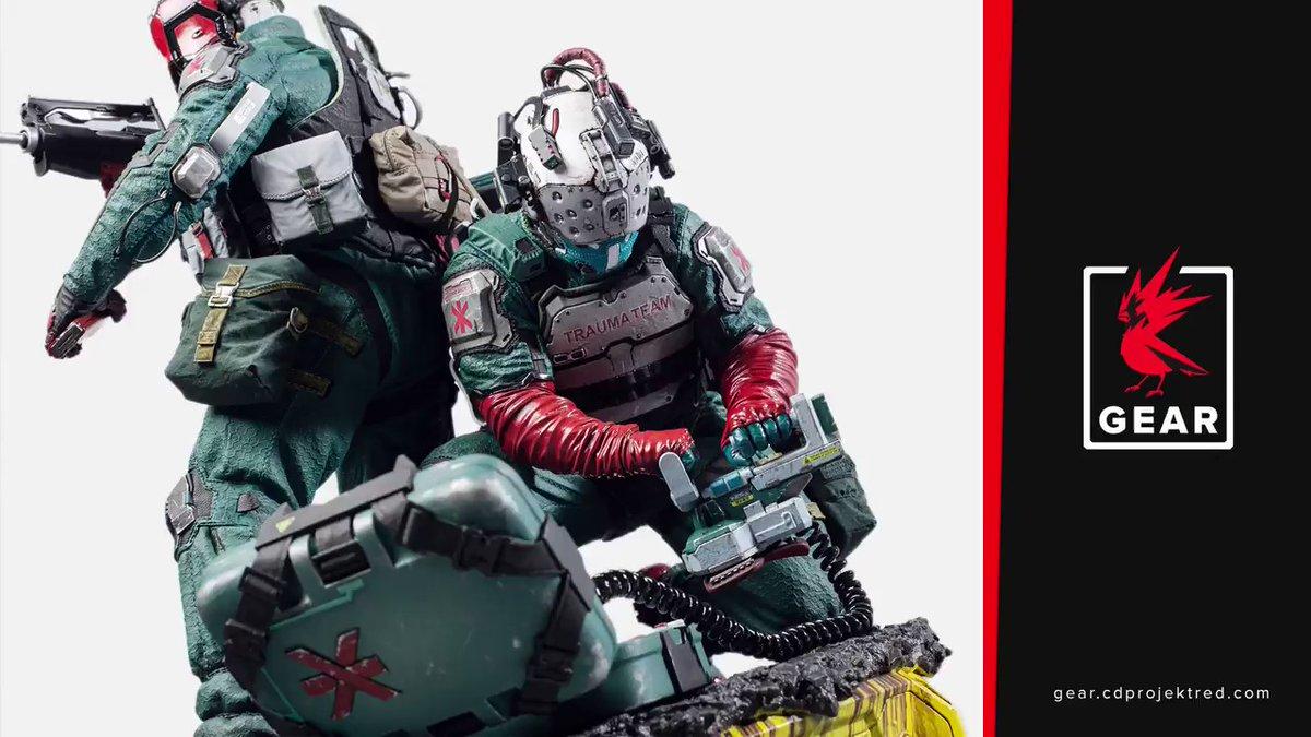 CD Projekt RED анонсировала фигурку боевых медиков из Cyberpunk 2077