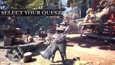 "Monster Hunter World ""Трейлер Hunting 101"""