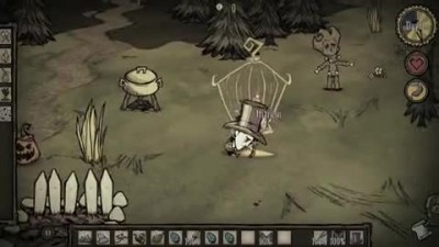 "Don't Starve ""Naughty&Nice Trailer"""