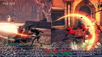 "DmC: Devil May Cry""Сравнение частоты кадров для PS4 vs Xbox One (Digital Foundry)"""