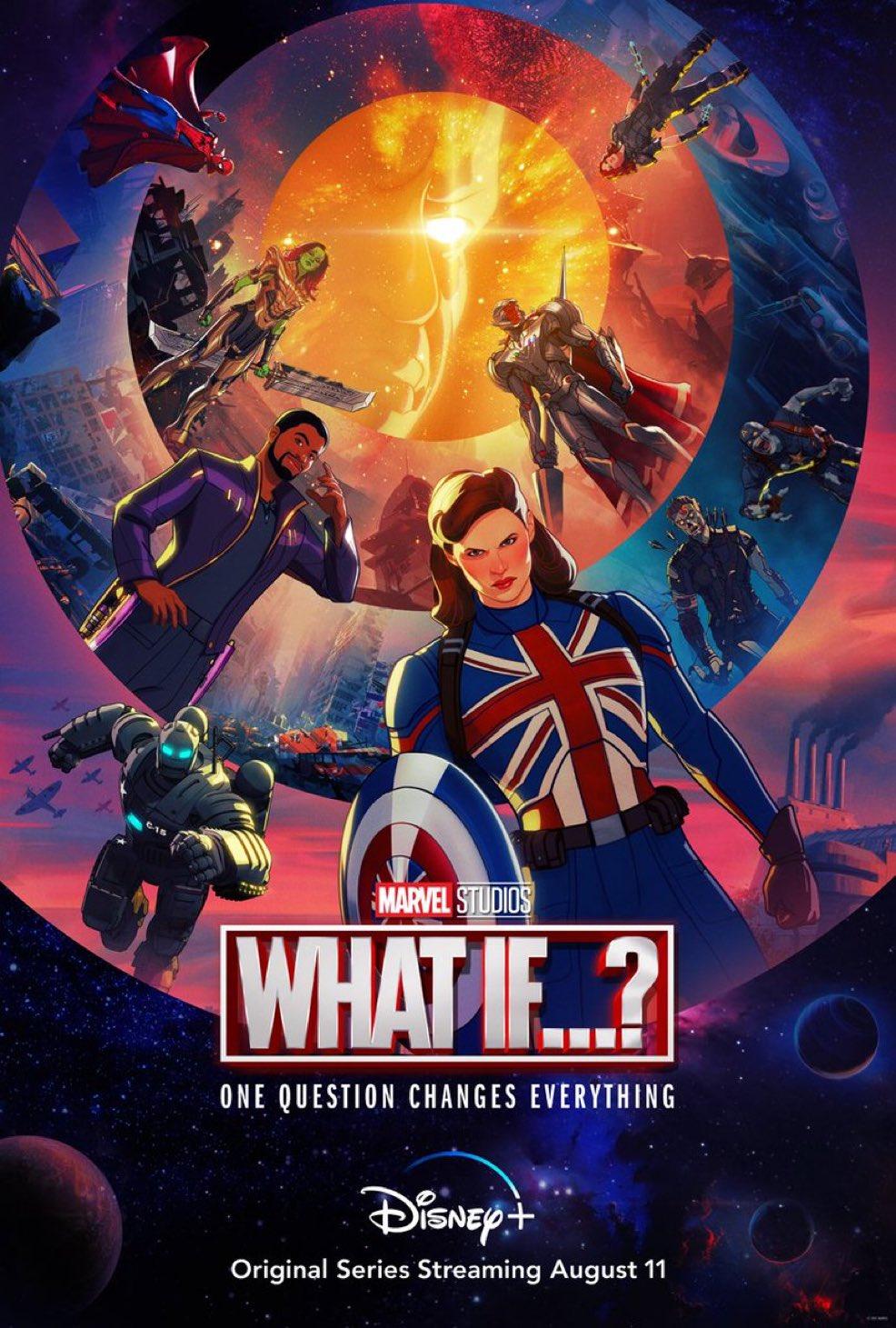 """Трейлер мультсериала """"Что, если...?"""" от Marvel Studios"""