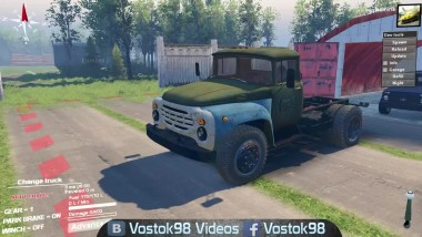 "Spintires - ЗИЛ-130 ""Старик"""