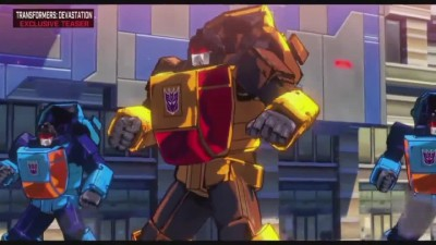 "Transformers Devastation ""Трейлер E3 2015"""