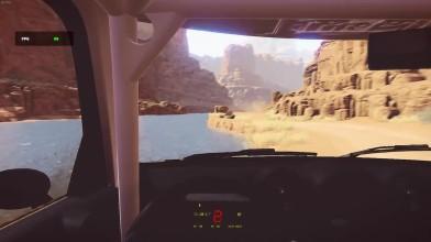 Безумная гонка в Долине Монументов в игре V-Rally 4