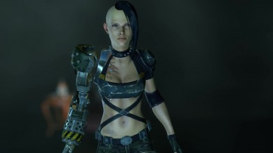 Сравнение старой и новой версий главной героини видеоигры Bombshell