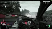 Nrburgring в грозу - хардкор Mitsubishi Lancer Evo X Project Cars на руле Fanatec CSL Elite