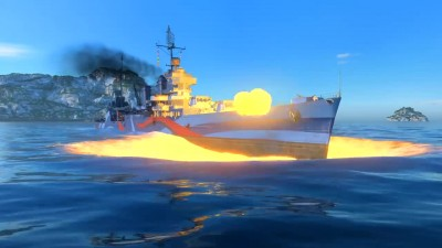 World of Warships. НавоевалЪ - New Orleans