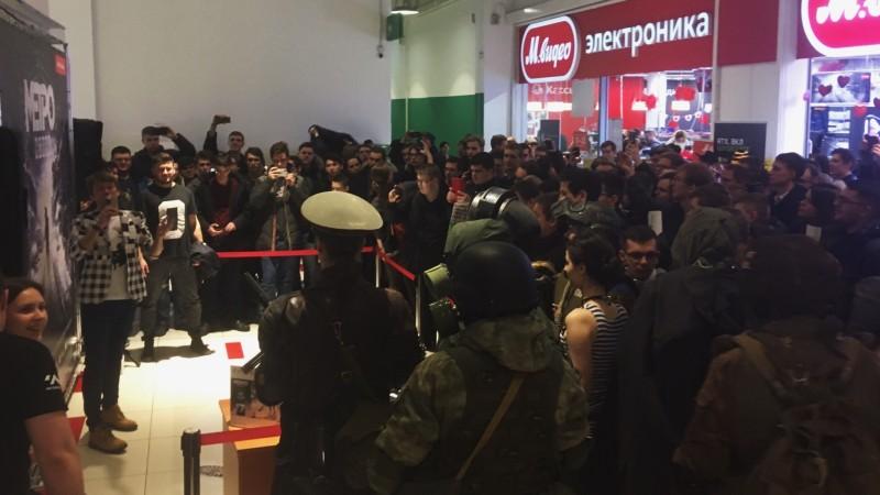 В Москве на ранний старт