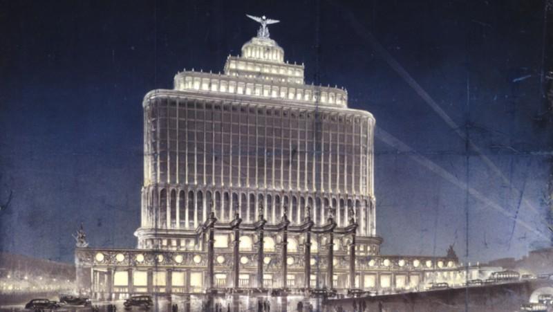 «Дом Аэрофлота» мог стать венцом сталинского ампира