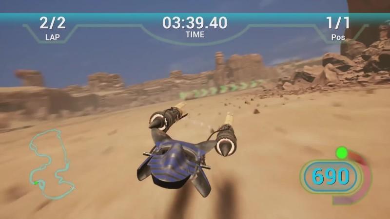 Star Wars Episode 1: Racer воссоздали на Unreal Engine 4