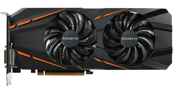 Gigabyte GeForce GTX 1060 D5 6G