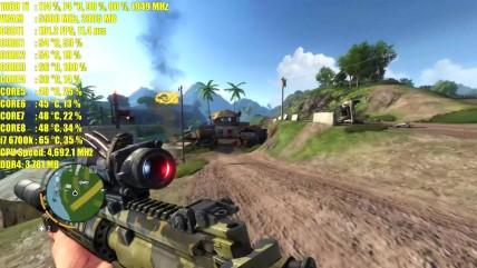 Тест производительности Far Cry 0 GTX 0080 Ti OC 0K (2160p)