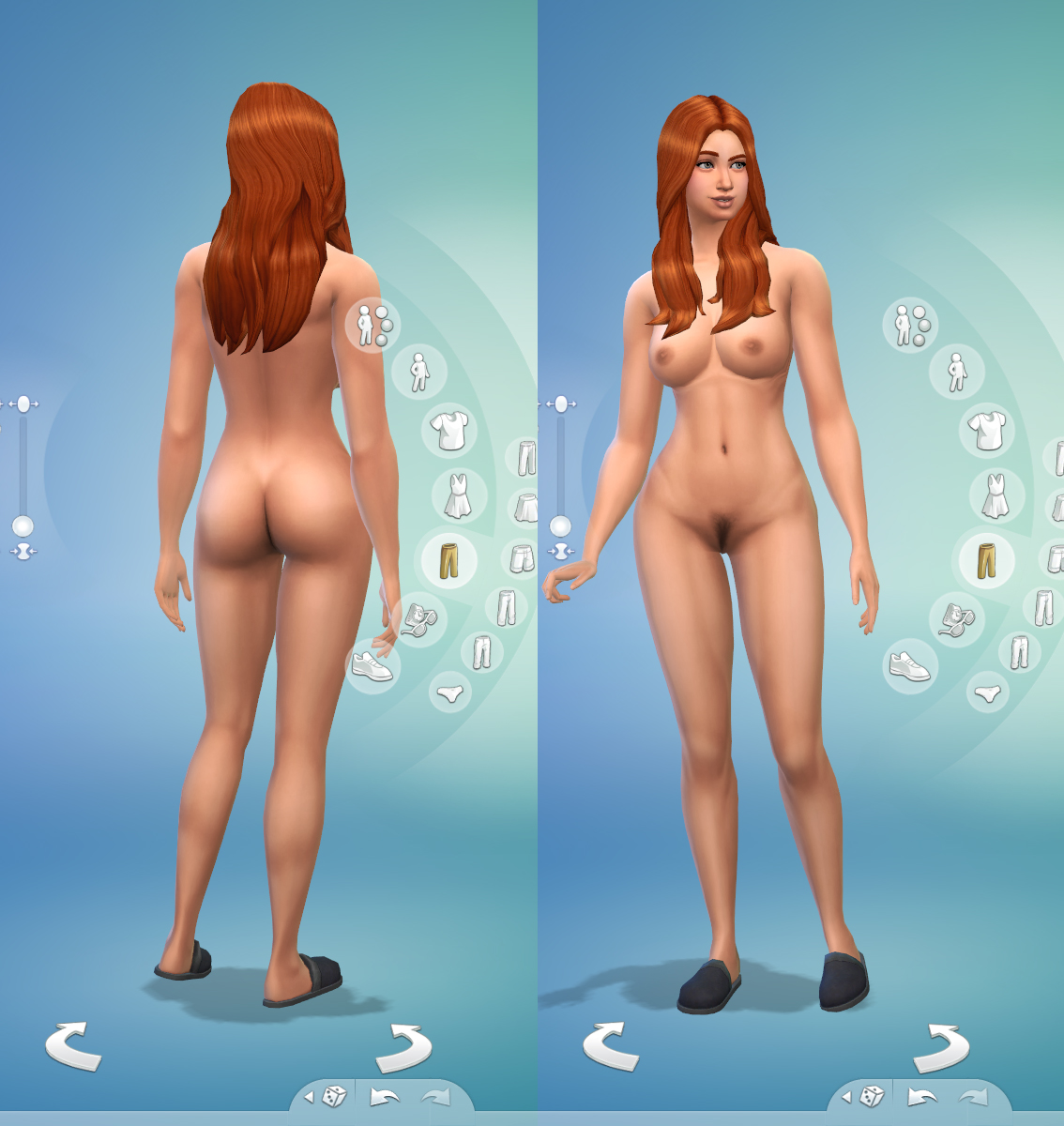 Nude sim 2 skins nudes video