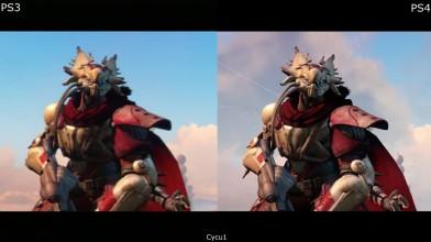 Destiny PS3 vs PS4 Pro Сравнение графики