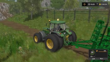 Мод Трактора JOHN DEERE 7710/7810 для игры Farming Simulator 17