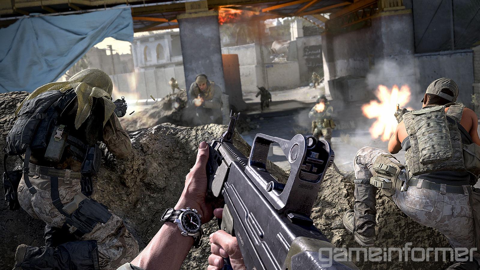 Новые подробности Call of Duty: Modern Warfare от Game Informer